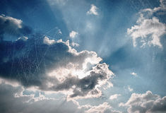 Vintage sky background Royalty Free Stock Images