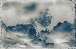 Vintage sky background Royalty Free Stock Image