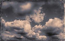 Vintage sky background Royalty Free Stock Photo