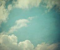 Vintage sky Stock Photo