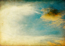 Vintage sky image. Royalty Free Stock Photos