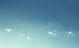 Vintage sky like a old film shoot. Royalty Free Stock Photography