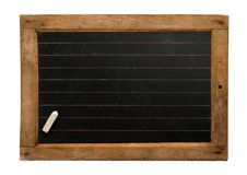Vintage slate with chalk Royalty Free Stock Photo
