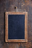 Vintage slate chalk board Stock Photography