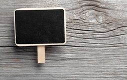 Vintage slate chalk board hanging Royalty Free Stock Photography
