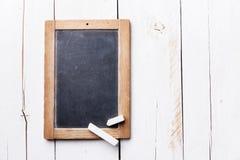 Vintage slate chalk board Stock Image