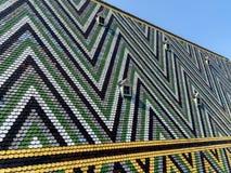Vintage Slate Roof Tiles Stock Image