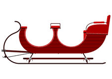 Vintage sleigh Royalty Free Stock Photography