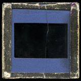 Vintage slide frame. Very grainy, grungy surface Royalty Free Stock Photos