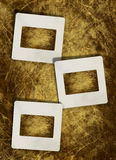 Vintage  slide photo frames Royalty Free Stock Photos