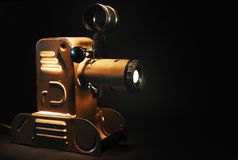 Vintage slide projector Royalty Free Stock Photo
