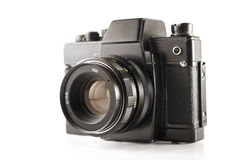 Vintage slr camera Royalty Free Stock Photos