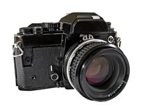 Vintage SLR Camera Stock Photography