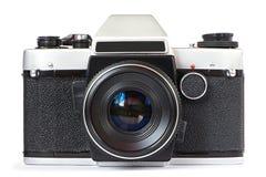 Vintage SLR camera Stock Image