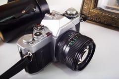 Vintage SLR Camera Royalty Free Stock Image
