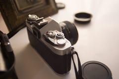 Vintage SLR Camera Royalty Free Stock Images