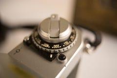 Vintage SLR Camera Stock Photography