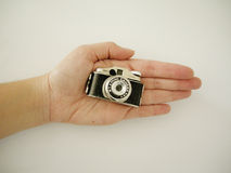 Vintage small camera Royalty Free Stock Images