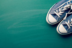 Vintage sneakers Stock Photography
