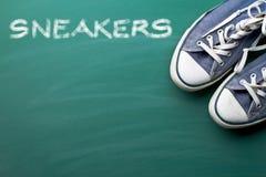 Vintage sneakers Stock Image