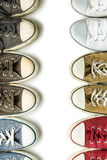 The vintage sneakers. Royalty Free Stock Image