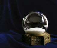 Vintage snow globe royalty free stock photo