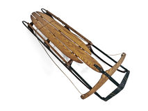 Vintage Snow Sled Stock Image