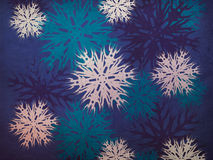 Vintage snowflakes Royalty Free Stock Photos
