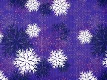 Vintage snowflakes Royalty Free Stock Photo