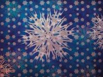 Vintage snowflakes Stock Image