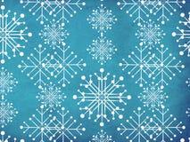Vintage snowflakes Stock Photo