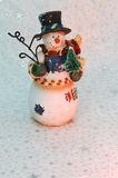 Vintage Snowman Stock Image