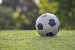 Vintage Soccer ball Stock Photography