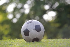 Vintage Soccer ball Royalty Free Stock Photos