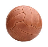 Vintage soccer ball Stock Images