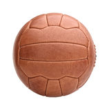 Vintage soccer ball Royalty Free Stock Image