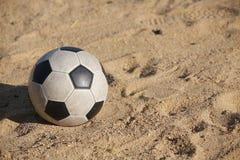 Vintage Soccer ball Stock Photos