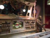 Vintage Soda Fountain, World of Coca-Cola Royalty Free Stock Photo