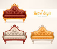 Vintage sofa Stock Photography