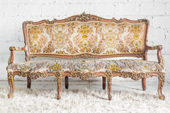 Vintage Sofa bed Royalty Free Stock Photo