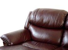 Vintage sofa. Isolate on white Royalty Free Stock Image