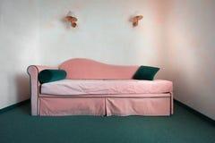 Vintage sofa stock photos