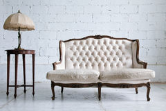 Vintage Sofa room Stock Photo