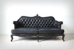 Vintage sofa in the room royalty free stock image