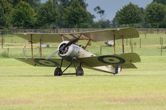 Vintage 1916 Sopwith Pup British fighter Stock Images