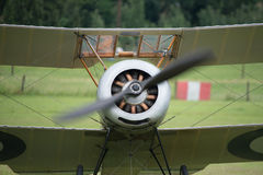 Vintage 1916 Sopwith Pup British fighter Stock Photo