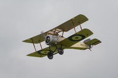 Vintage 1916 Sopwith Pup British fighter Royalty Free Stock Images