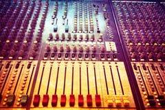 Vintage sound board Royalty Free Stock Photo