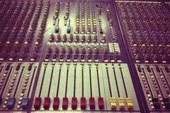 Vintage Sound control Stock Images