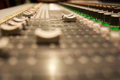 Vintage sound desk Royalty Free Stock Photo